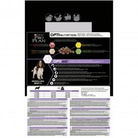 Información general de pienso Purina Pro Plan Medium & Large Adult 7+ Senior Original