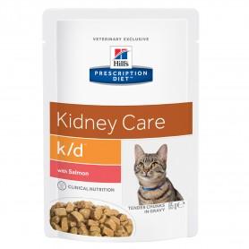 Hill's Prescription Diet Feline k/d salmon (bolsita)